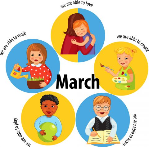 March to March!